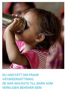 Vätskeersättning UNICEF