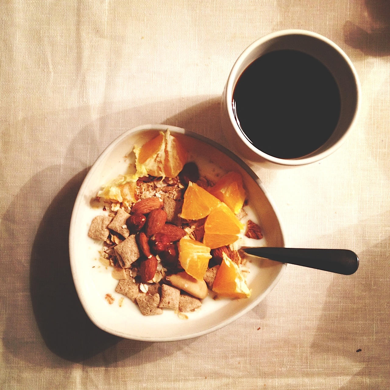 musli frukost