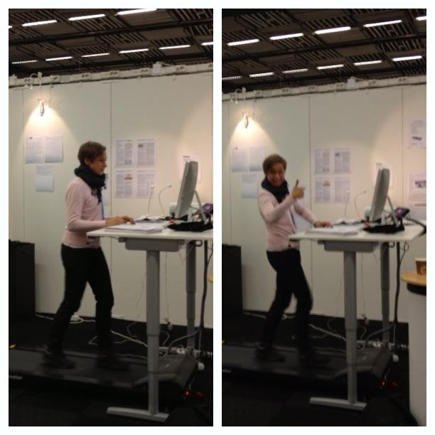 träning vid skrivbordet Kajsa Asp