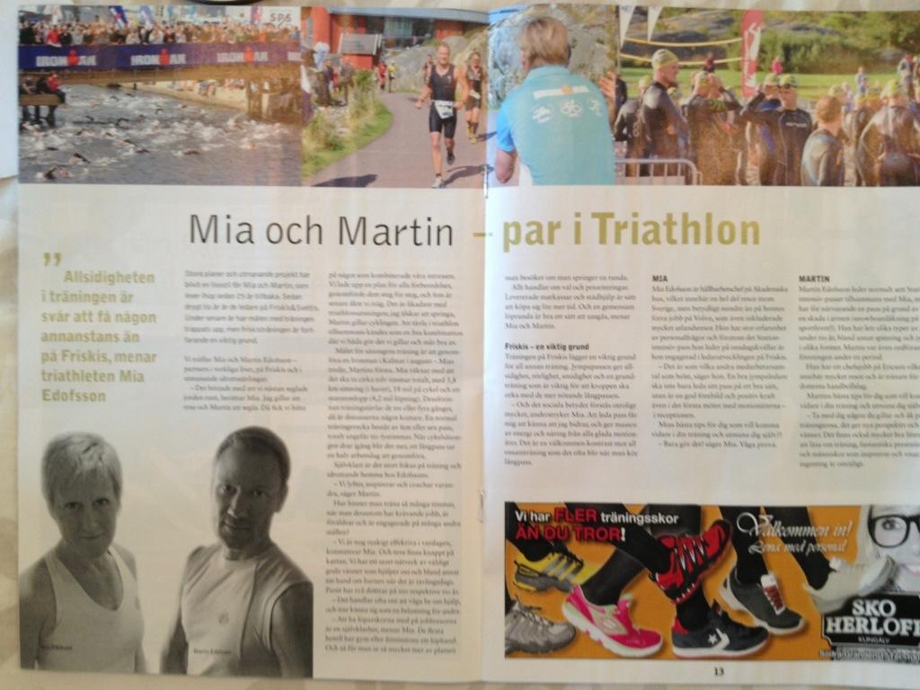 Triathlon träning tävling kost uppladdning