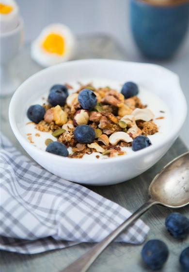 Frukost m blåbär Kajsa Asp Jonson