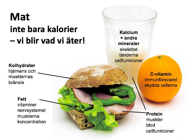 Vad innehåller maten kajsa asp jonson dietist kost näring